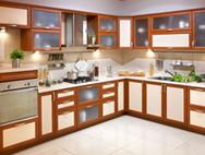 Кухни с комбинированными фасадами