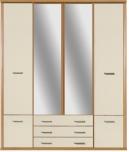 Шкаф платяной 4D BRW TOM