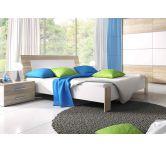 Кровать Helvetia BETA дуб сонома/белый