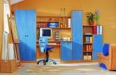 Детская стенка БРВ КАНДИ с библиотекой