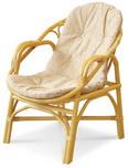 Кресло с подушкой Calamus Rotan 0204 В