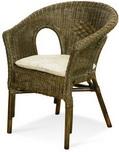 Кресло с подушкой Calamus Rotan 0208 В