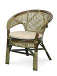 Кресло с подушкой Calamus Rotan 0215 В