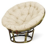 Кресло Папасан с подушкой Calamus Rotan 2301