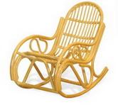 Кресло-качалка с подушкой Calamus Rotan 0504