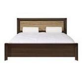 Кровать LOZ 160 зебрано BRW SORRENTO